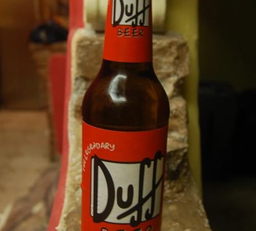 simpsons duff beer