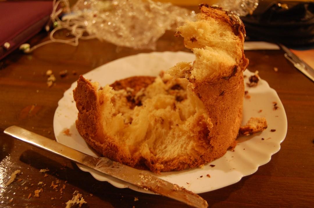 eaten panettone