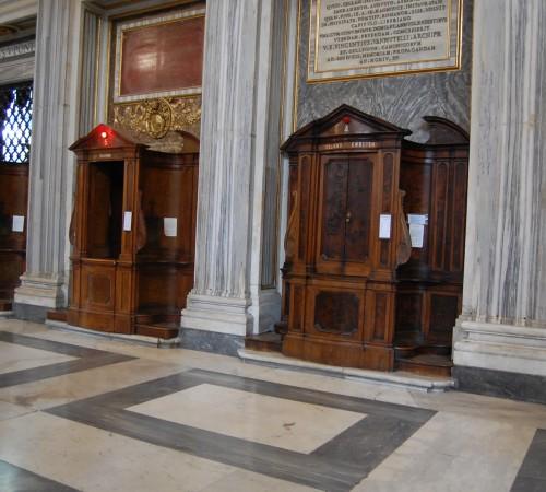 confessional light