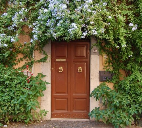 cute italian door