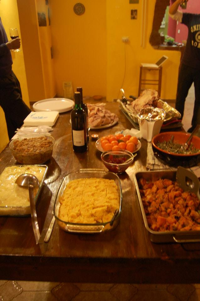 thanksgiving in italy
