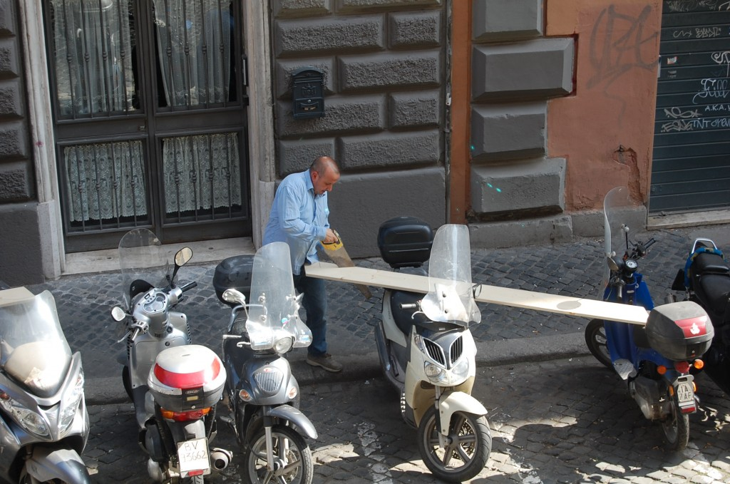 Construction in Italy