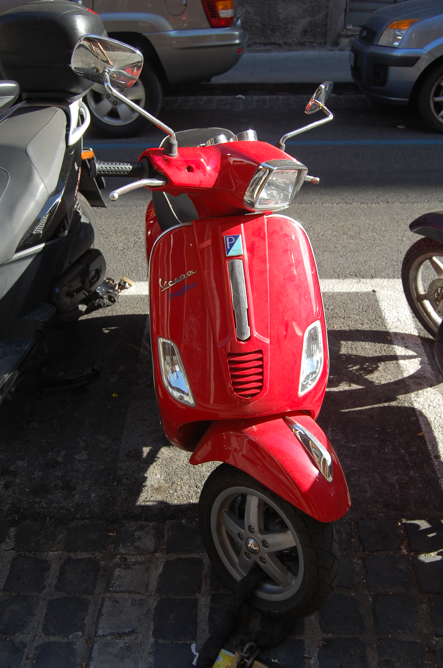 Driving a Scooter in Rome - An American in Rome
