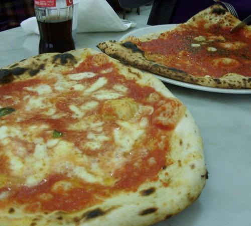 pizza at da michele