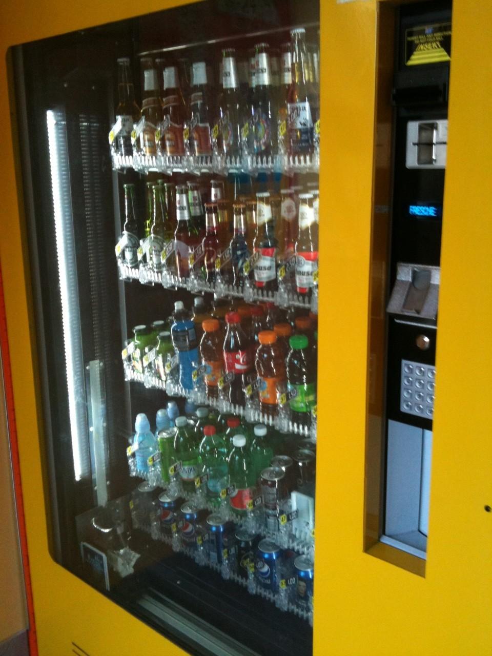 Beer Vending Machines An American In Rome