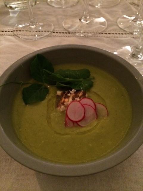 pea soup rome