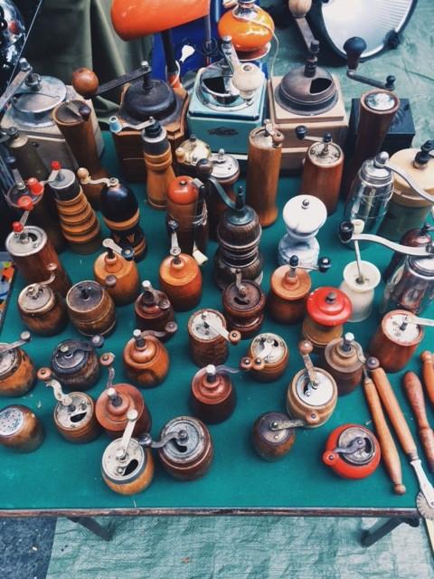 vintage spice grinder