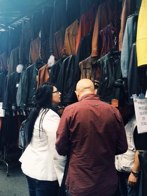 Leather sale