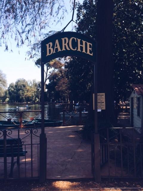 barche villa borghese