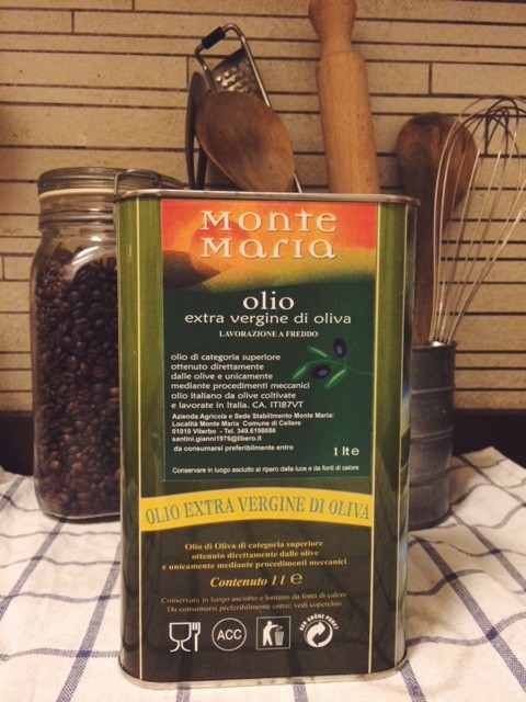 liter of olive oil