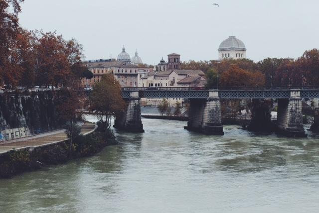 Rome in fall