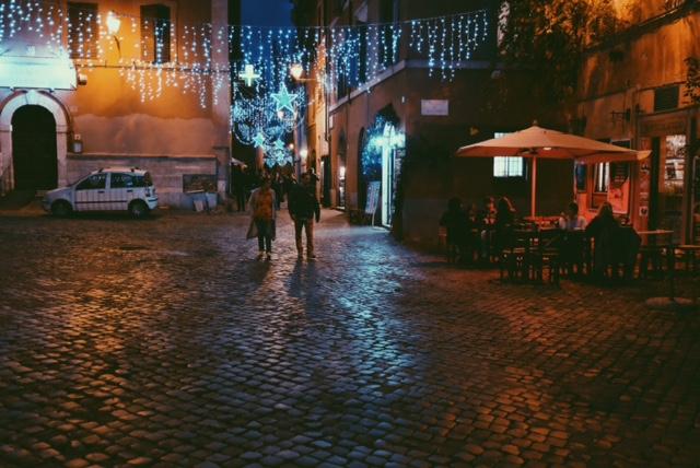 lights in trastevere