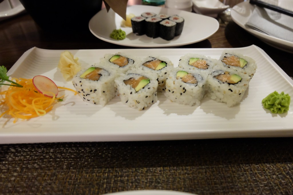 good sushi rome