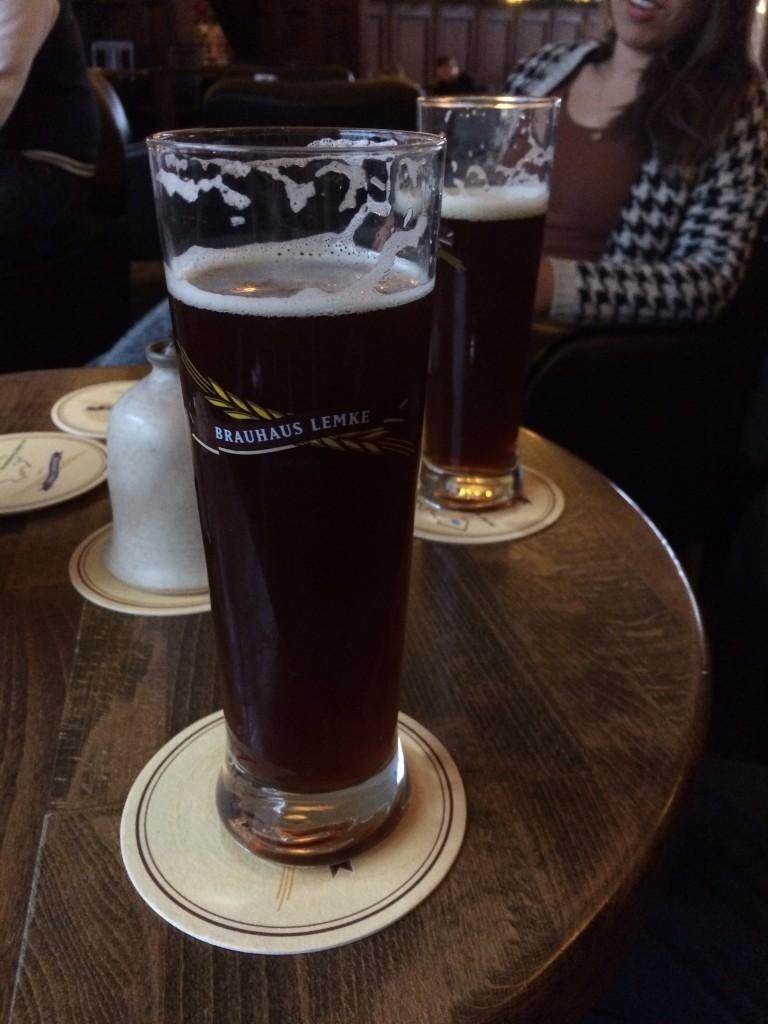 dark craft beer