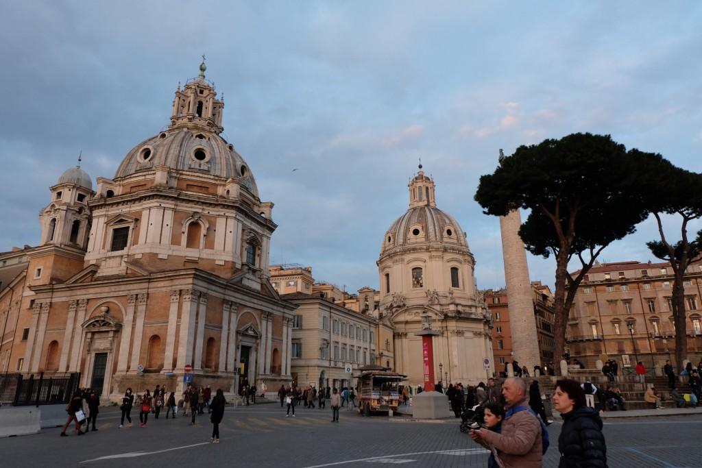 Rome Golden Hour Trajans column