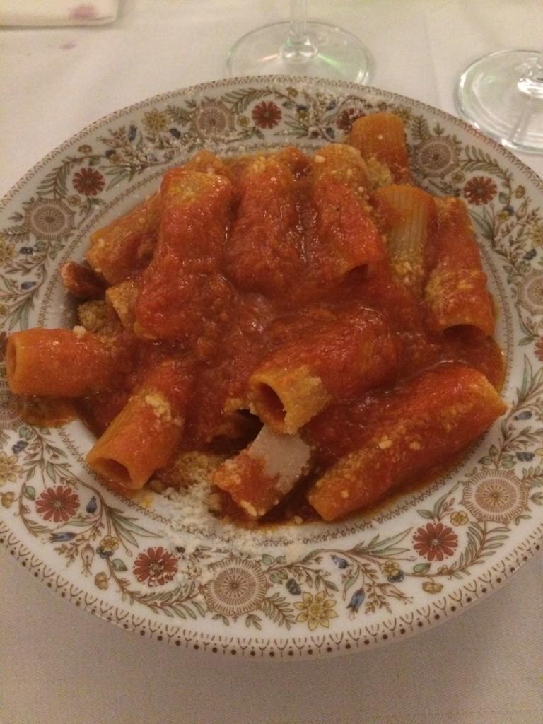 amatriciana pasta rome