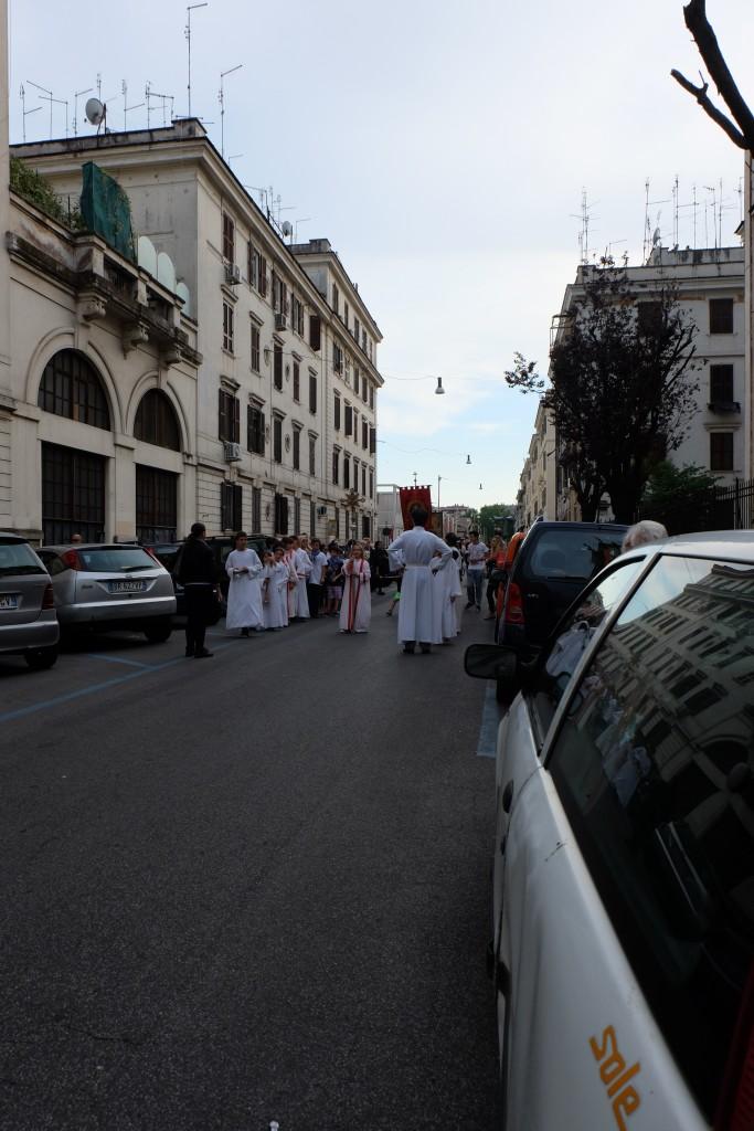Religious procession testaccio