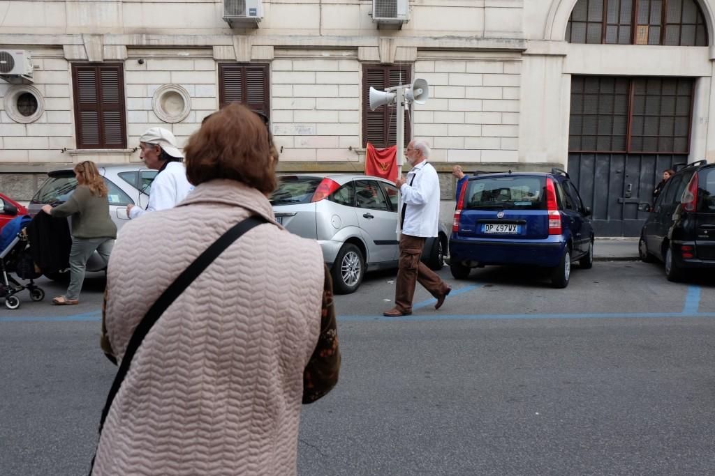 Testaccio Rome Parade