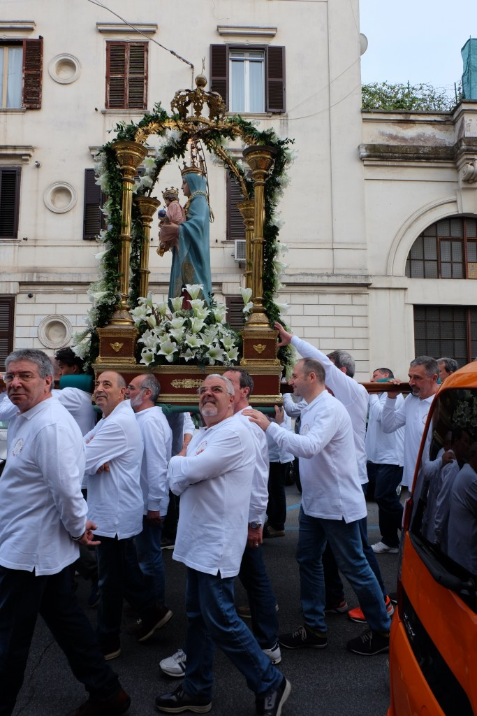 Holy Mary Procession in Testaccio