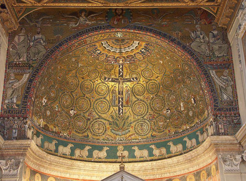 mosaic roma san clemente