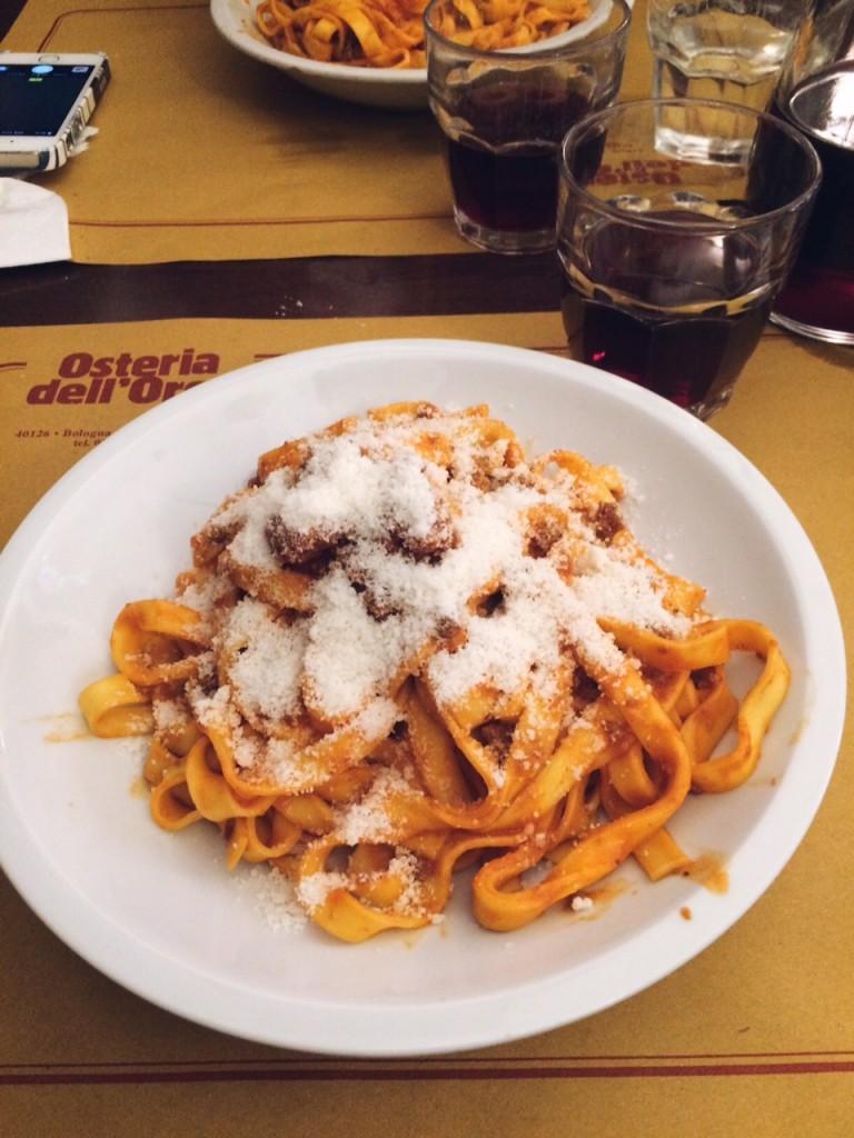 Ragu in Bologna