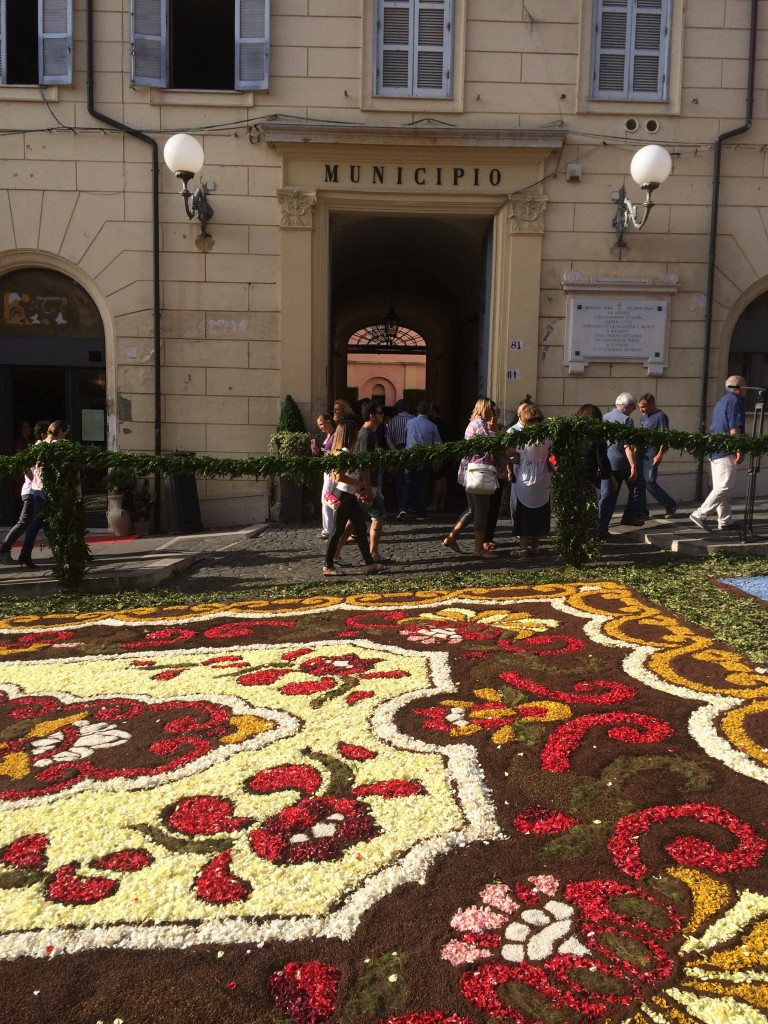 genzano flower festival