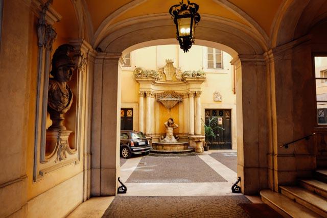 Roman driveway