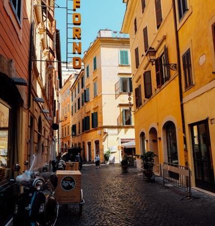 Antico Forno Roscioli for street food in Rome