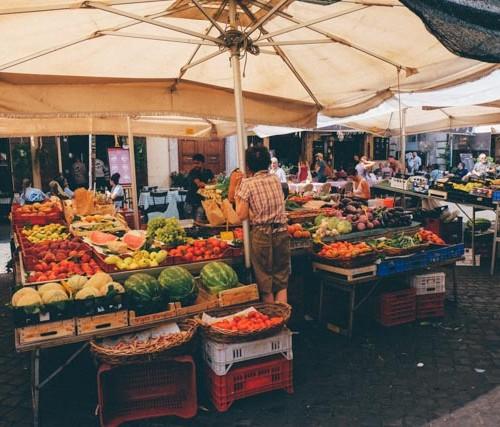 Campo de fiori fresh market