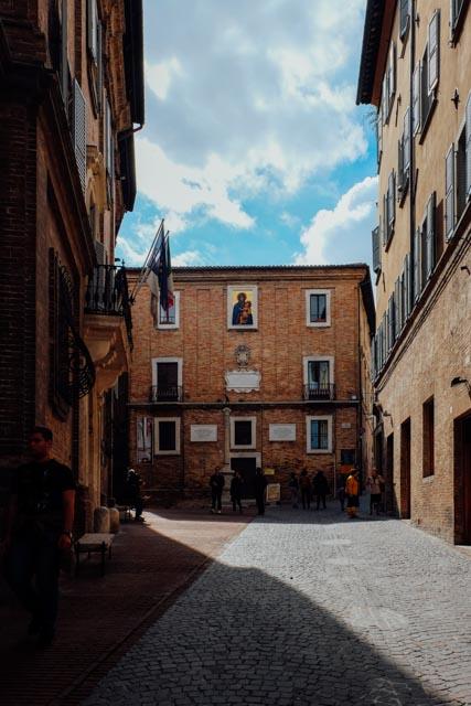 Urbino historic center