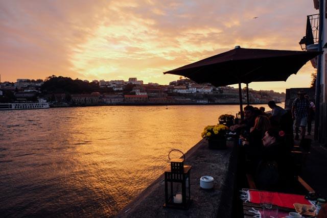 sunset douro