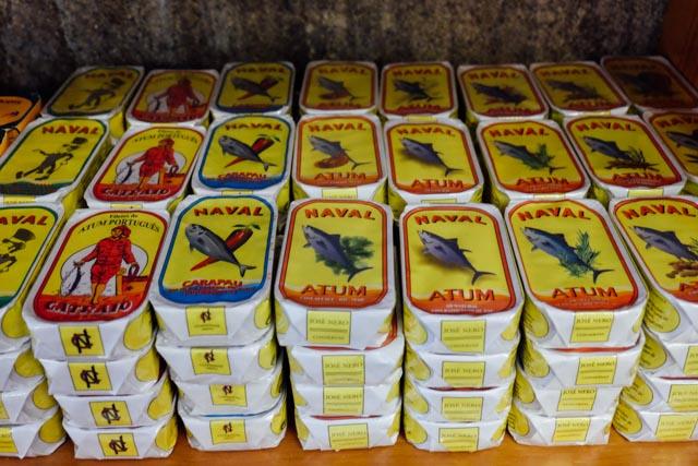 retro sardines portugal