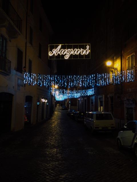 Auguri Natale Roma