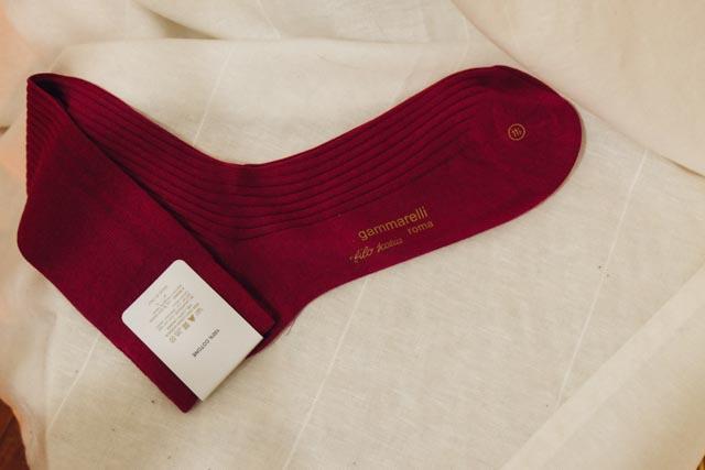 Where to buy pope socks in Rome
