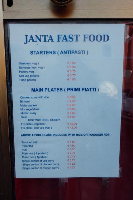 Janta Fast Food Rome