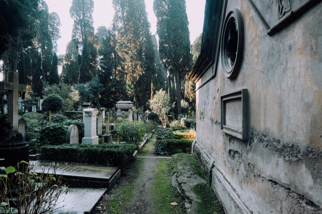 cemetery for foreigners rome