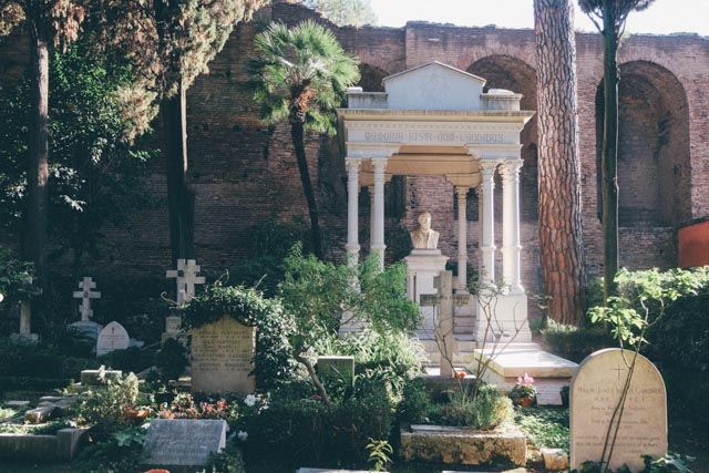 Rome's Protestant Cemetery
