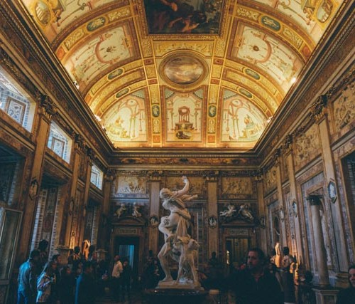 Rome Galeria: Rome's Keyhole: A Picture Perfect View