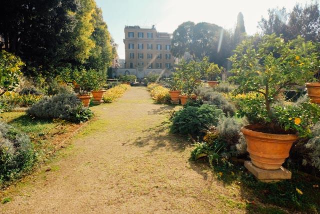 Gardens near Galleria Borghese