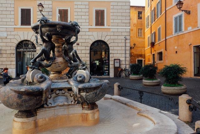 Roma Fontana di Tartarughe