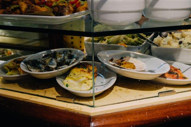aperitivo food in Venice
