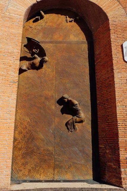 Doors of Santa Maria degli Angeli in Rome