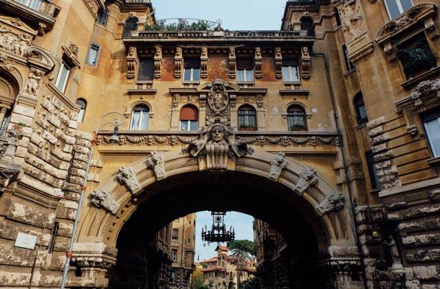Coppede Rome