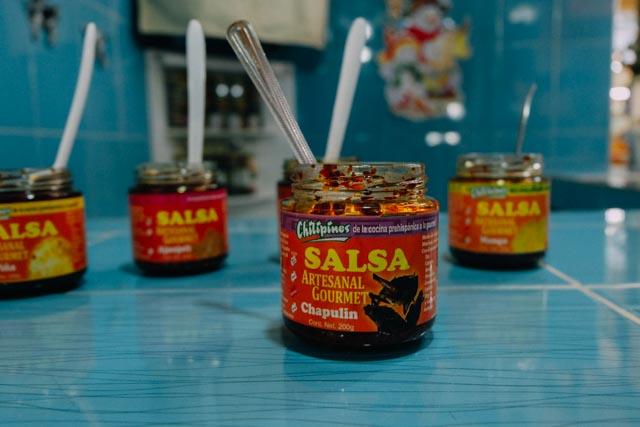 Grasshopper salsa