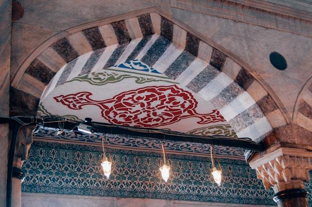 Blue Mosque details