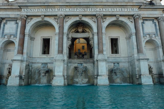 Fontana dell'Acqua Paola on Gianicolo