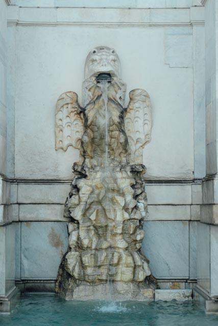 detail of fontana dell'acqua paola