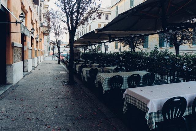 Outside Torricella Testaccio