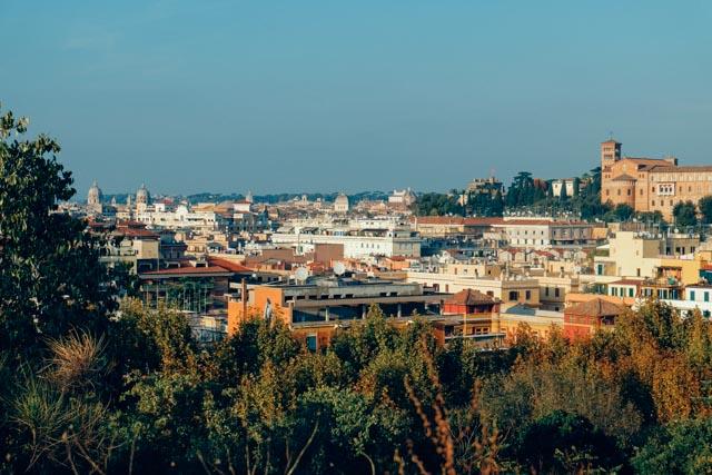 View from Monte Testaccio