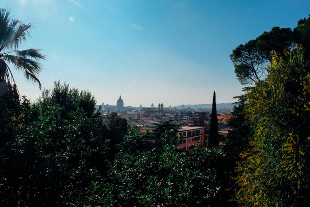 Pincio view